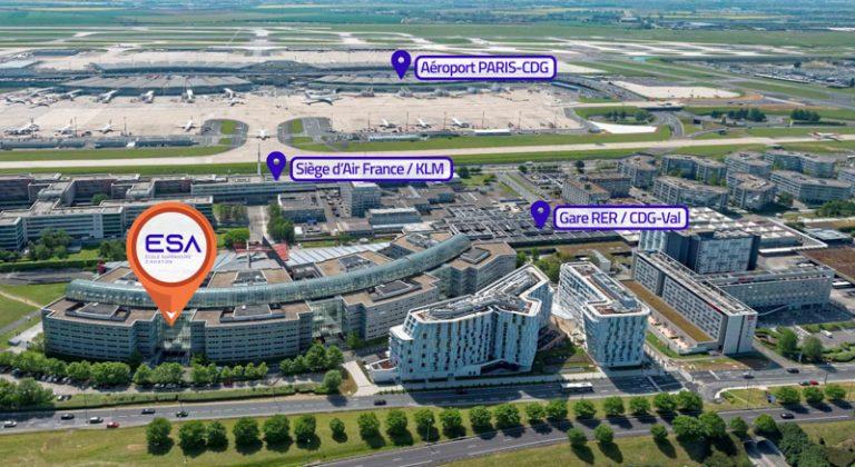 ESA Ecole Superieure Aviation Aeroport Paris CDG
